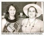 Diana Rowland and Anna Marie Catoir
